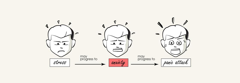 anxiety illustration